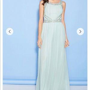 Beaded Prom Maxi Dress